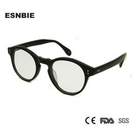 7b20a3613d ESNBIE Designer New Clear Eye Glasses Round Round Eyeglasses Frames Men  Myopia Vintage Optical Glasses Frame For Women 2017