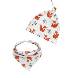 China 1 set Cotton Baby Hat Scarf Children Winter Spring Scarf-Collar Boys Girls Warm Caps animal Baby Seal Caps suppliers