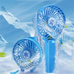 Fan Fold online shopping - Mini USB Folding Fan Super Quiet Portable Rechargeable Fans In Hand Summer Student Dormitory Cool Tools pc X