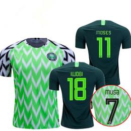 422beee0a Futbol Jersey Xl UK - Thailand Quality 2018 Nigeria Home away Soccer JERSEY  Nigeria IKEL