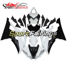 $enCountryForm.capitalKeyWord NZ - Complete Fairings Kit For Yamaha YZF600 R6 2008 - 2016 Year 08 - 16 Plastic ABS Motorcycle Fairing Kit Fittings White Black New Covers