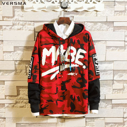 $enCountryForm.capitalKeyWord Canada - VERSMA 2018 High Street Streetwear Camouflage Printed Mens Hoodies Sweatshirts Autumn Japanese Harajuku GD Hooded Sweatshirt 5XL