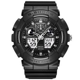 $enCountryForm.capitalKeyWord UK - SMAEL Brand New Digital Men's Watch G Style Sports Military Watches Men Analog Quartz Waterproof Clock Men Relojes Hombre
