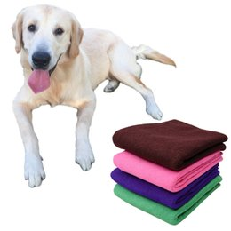 Ultra Absorbent Drying Cloth Polyester New High Quality Puppy Towel Soft  Quick-dry Lint-free Pet Dog Towels Pet supplies cheap lint free cloths