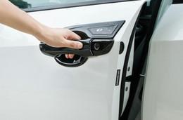 Cubierta de protección de la decoración de la palanca de la puerta de la puerta del cromo de la alta calidad del ABROME 8PCS + 4pcs tazón de manija de la puerta con logo para Honda Civic 2016-2020 en venta