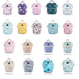 Free diapers online shopping - Fashion Baby Diaper bags Mommy Backpack Florals animals print Diaper bags Multifunction Big capacity Mother Maternity Hotsale Free DHL