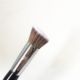 makeup brushes purpose UK - Pro Angled Contour Brush #75 - Multi-purpose Blush Foundation Bronzer Concealer Brush - Beauty Makeup Brush Blender
