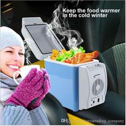 Портативный многофункциональный холодильник для холодильника с подогревом 12V 7.5L лов рыбы и езды на велосипеде HUANJIE-интернет-холодильник