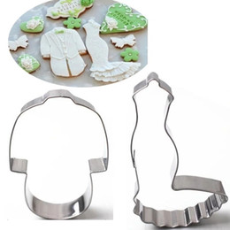 $enCountryForm.capitalKeyWord Canada - Wedding Dress and Suit stainless steel cookie cutter high quality  Animal bread mold biscuit stamp patisserie pastry tool