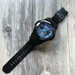 Men New Style Watches Australia - New G Style High Quality Outdoor Sports Men Watches Military Army Wristwatches functional Style Work Rubber Strap Digital Guartz Watches