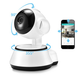 Pan hd iP camera audio online shopping - Wifi Smart IP Camera HD P Two Way Audio Security Baby Monitor Camera Wireless With Motion Detection Night Vision
