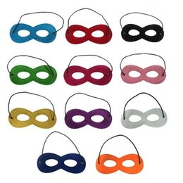 Kids Cape Masks NZ - 100 pcs Various Colors Kids Eyes Masks Masquerade Masks Party Cosply Eye Masks Eye Shades for Capes