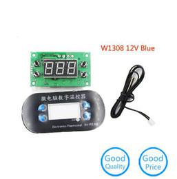 $enCountryForm.capitalKeyWord Australia - 1pc XH-W1308 W1308 DC12V Digital Thermostat Temperature Alarm Controller Sensor Meter Blue LED High Quality New Original