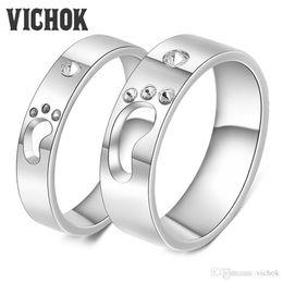 d9f343e94 Platinum band couPle ring online shopping - Women Men Couple Rings Platinum  Plate Foot Design L