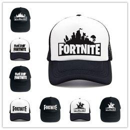 c30bb5e9a1f 14 Design Fortnite 3D Print Baseball Hat Fortnight Hip Hop Snapback Summer Trucker  Caps for Men Women Outdoor Sun Mesh Hats Game Fans Gift