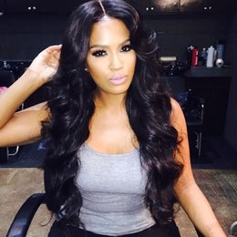 Black Women Burgundy Human Hair Wigs Australia - Virgin Brazilian Human Hair Full Lace Wigs For Black Women With Natural Hairline 130% Density Body Wave Lace Front Wigs