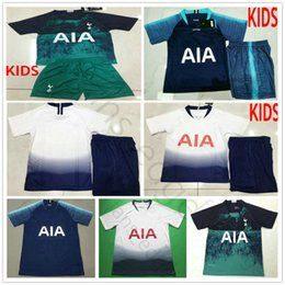 f2e27f92b4b 18 19 Premier League Kids TottenhamEs Soccer Jerseys KANE LAMELA ERIKSEN  DELE Custom Home Away Hot Spur Youth Man Woman Football Shirt Kit