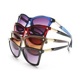 $enCountryForm.capitalKeyWord NZ - New 2018 Woman Sunglasses Big Frame Bright Trend Shopping Travel Photos Necessary High Quality Glasses