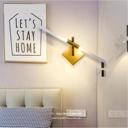 $enCountryForm.capitalKeyWord Australia - SVITZ Club Modern Led luminaire wall sconce for Bedroom Bedside Lamp Nordic Led Mirror Light fixtures Background hallway Led Wall Lamp