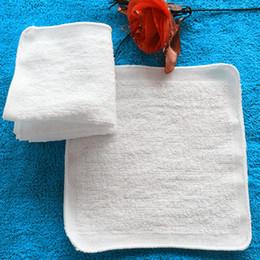 $enCountryForm.capitalKeyWord NZ - White Small Square Towel 20x20cm Custom Gift Giveaway Towel Absorbent Thickened Hand Towel Hotel Cotton Napkin Handkerchief Kitchen Rag