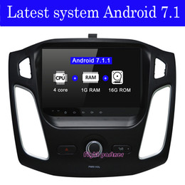 Ford Focus Player Australia - Factory price latest android 7.1.2 car dvd player gps navigation for Ford Focus 3 2012 2013 2014 2015 with BT Wifi GPS