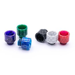$enCountryForm.capitalKeyWord UK - Snake Drip Tip 510 Resin 8.5mm Joint for 510 Thread RDA RTA Tank Vaporizer Atomizer E Cigarettes Vape Accessories 510 Mouthpiece