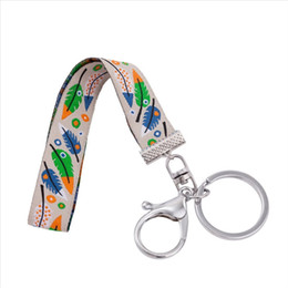 $enCountryForm.capitalKeyWord NZ - F-0025 New Fashion Cute Style Embriodery Keyholder Time Machine Role Wristlet Key Fob Bag Accessories Doctor Who Man Keyring Gifts