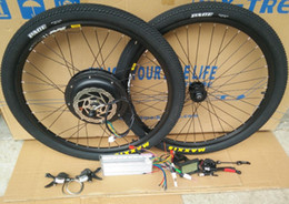 $enCountryForm.capitalKeyWord Australia - wholesale 48V 1000W Electric bike wheels Free shipping FEDEX 20 26 27.5 29 700C bicycle Electric motor 26 29*2.1inch tires