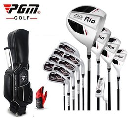 Wholesale Brand PGM men Full half mini complete golf clubs set with bag mens golf clubs irons branded irons set
