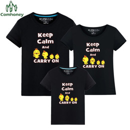 c59567959 Family Matching Outfits Colorful T Shirt Funny Mother & Kids Tops Short  Sleeve Dad Mom Baby Family Suit Father Son Clothes