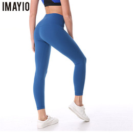 Discount super tight yoga pants - Imayio Tummy Control Women Yoga Super Fitness Pants Soft Hip Up Booty Stretchy Sport Tights High Waist Gym Quick Dry Leg