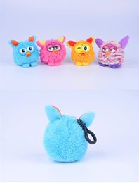 Wholesale Gifts For Pets Australia - Cute Mini Phoebe Squeeze Sound Plush Electronic Dolls Toy Children Electronic Plastic Talking Speak Toys Pet For Girls Boy gift