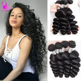 $enCountryForm.capitalKeyWord NZ - Indian Loose Wave Hair Bundles 100% Human Hair Extensions India Hairs Weft Non Remy 3 4 Bundle Deals Natural Black 10-30 Inch Free Shipping