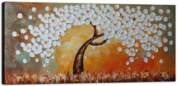 Shop white flower oil painting uk white flower oil painting free 8 photos white flower oil painting uk handmade wall art canvas painting decor for living room large mightylinksfo