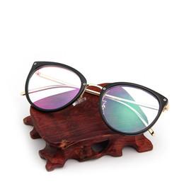 e7f5fe0907 NEW Spectacle frame cat eye Glasses frame clear lens Women brand Eyewear  optical frames myopia transparent Temples for glasses