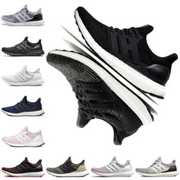 Candies sneakers online shopping - Cheap Ultra Running Shoes Primeknit Oreo Triple Black White CNY Mocha Multicolor Candy Cane Men Women Designer Sports Sneakers