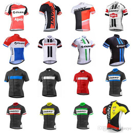 $enCountryForm.capitalKeyWord Australia - GIANT team Cycling Short Sleeves jersey Bicycle Clothing Hot Summer Indispensable Outdoor Sports Bike Clothing Ropa Ciclismo C2405