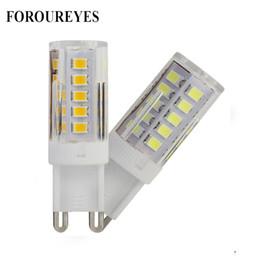 Replace spotlight bulb online shopping - G9 LED Lamp V Ceramic leds SMD2835 LED Bulb replace W Halogen light for Chandelier