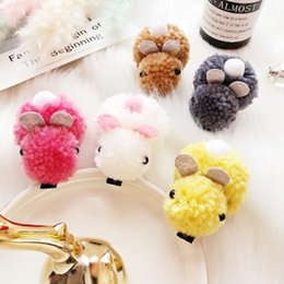 hairpin korean NZ - Cute hairline, rabbit hair clip, autumn and winter new cartoon hairpin, Korean ins hair ornament, headgear and tide.