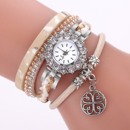 Weave Wrist Watch Australia - Best Sale 2018 Fashion Womens Bracelet Vintage Weave Wrap Quartz Leather Gift Casual Wrist Watches lady watch Relogio F30