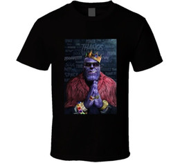 Biggie Shirts UK - Avengers Thanos Biggie Smalls Black T Shirt Free Shipping