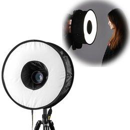 45cm anillo de luz de flash caja de luz softbox luz de flash 45cm luz de flash plegable para cámara de Canon Nikon anillo de accesorios