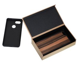 Wholesale Items Sold Australia - Best Selling High Quality New Item Wooden Gift Box For iPhone XS MAX Wood Case Hard Packing Box For Phone Cover