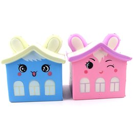 Chinese  Squishy Scented Bear House Slow Rising Soft Squeeze Stuffed Kids Toys Mobile Phone Straps Funny Pressure Release Toy 30pcs OOA5066 manufacturers