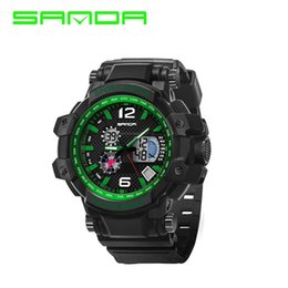 $enCountryForm.capitalKeyWord Australia - SANDA Digital Watch Men XFCS Men Wrist Watch Waterproof LED Analog Sport Electronic Hodinky Relogio Masculino