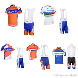 2018 Pro Men team RABOBANK ropa Ciclismo Cycling Jersey Bike short Sleeve  Clothing MTB maillot summer Bicycle Bib Shorts Set 33014 202198d50