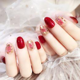 red nails white tips australia 24pcs high quality false nail white finished products acrylic french