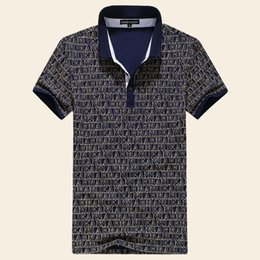 fashion designing mens wear 2018 - mens polo shirts print designs Wear t pattern the Line figure of lace Leisure fashion Brand Men's t Sleeve cheap fa