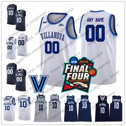 7765d406714 Villanova Wildcats  21 Dhamir Cosby-Roundtree 22 Peyton Heck 23 Jermaine  Samuels 34 Tim Delaney white navy blue Round V Neck Collar Jerseys