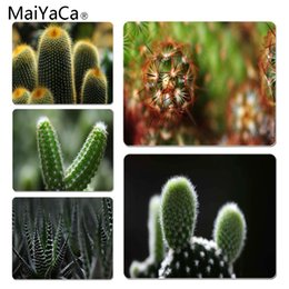 Wholesale MaiYaCa Vintage Cool Cactus Large Mouse pad PC Computer mat Size for x220x2mm and x290x2mm Rubber Mousemats